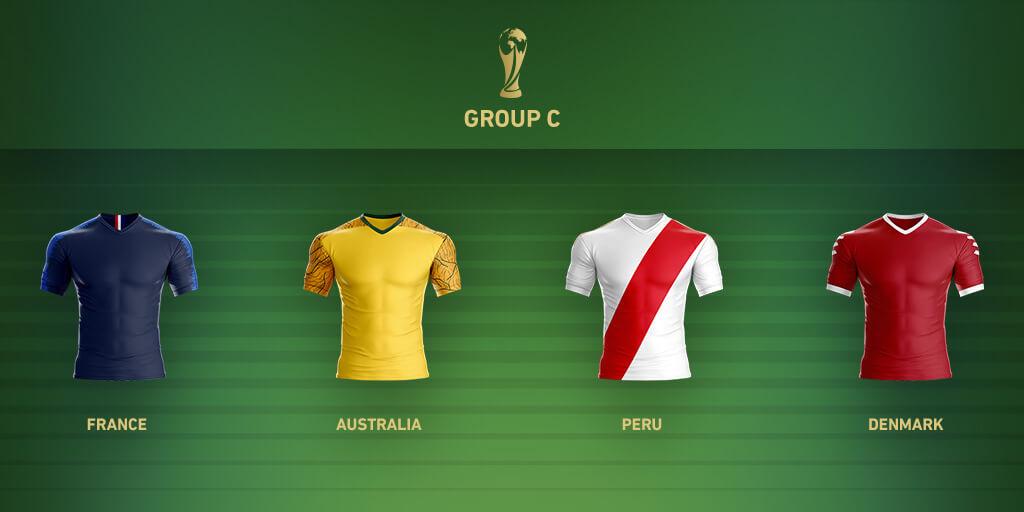 Группа C Чемпионата Мира 2018