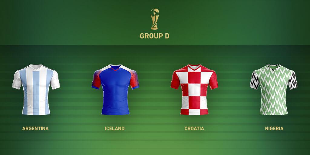 Группа D Чемпионата Мира 2018