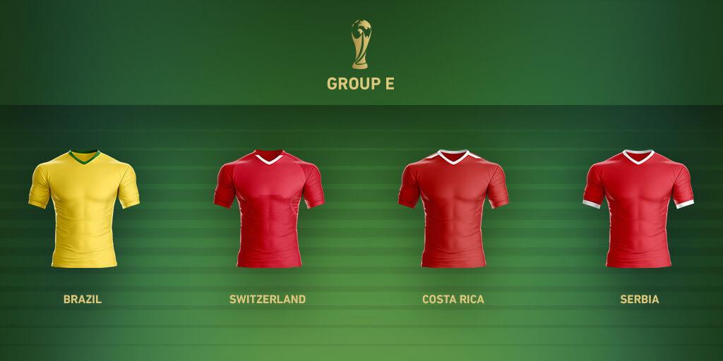 Группа E Чемпионата Мира 2018