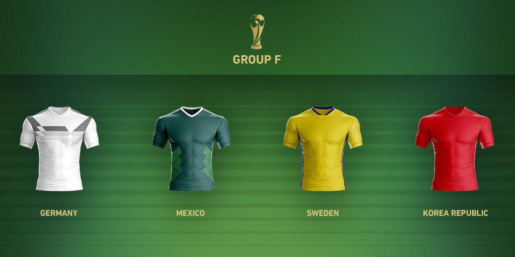 Группа F Чемпионата Мира 2018