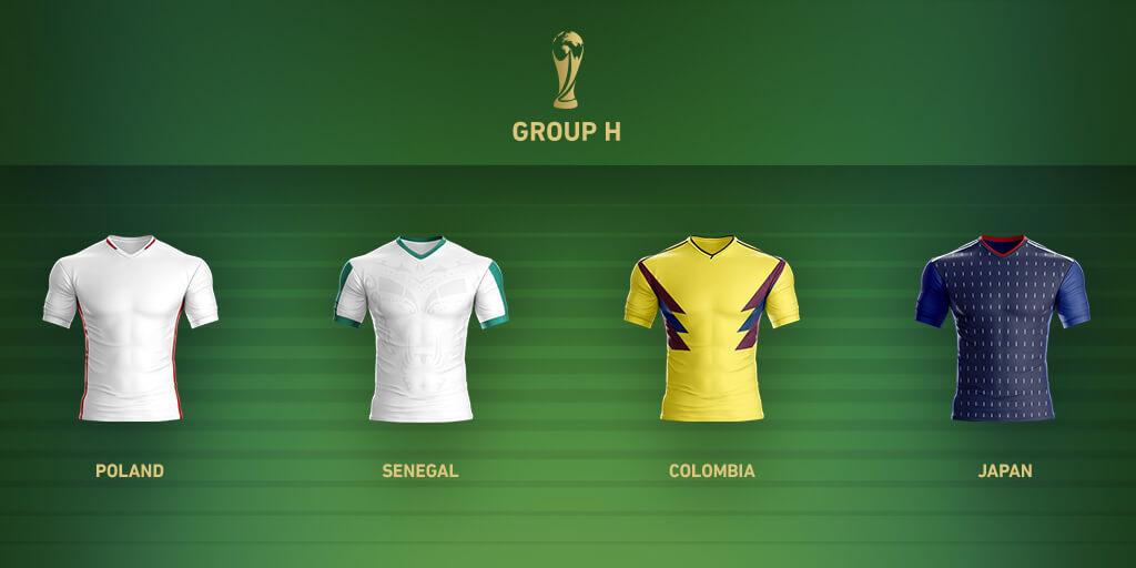 Группа H Чемпионата Мира 2018